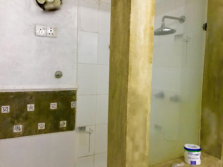 Family room toilet at club lespri