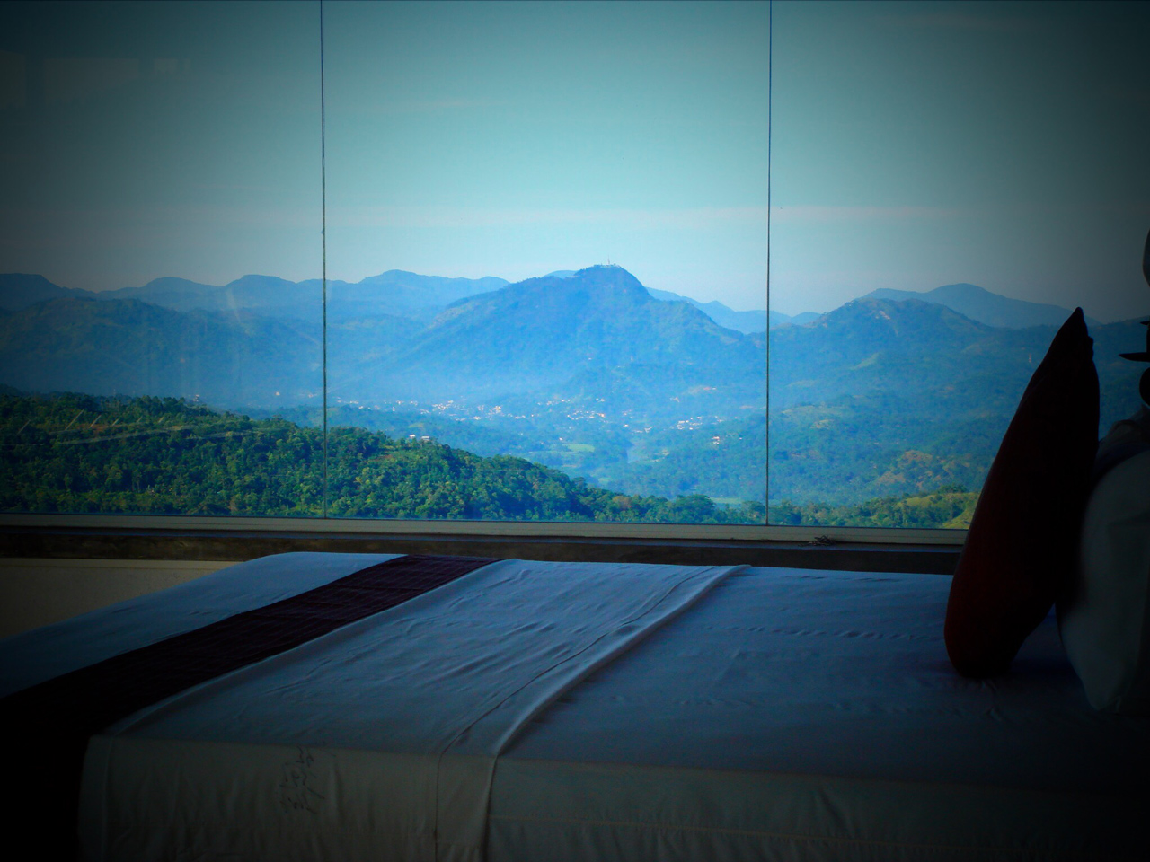 watch sunset and sunrise from your bed room hotel club lespri