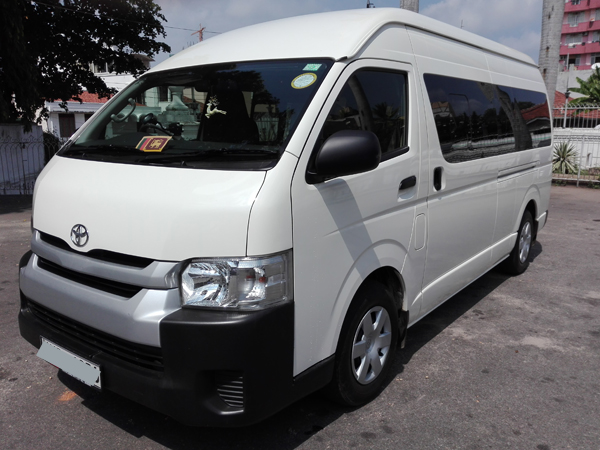 Discounted van hires laepsri rent a car sri lanka toyota hi ace